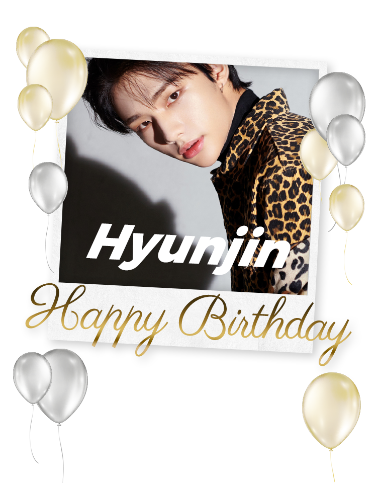 Hyunjin Happy Birthday