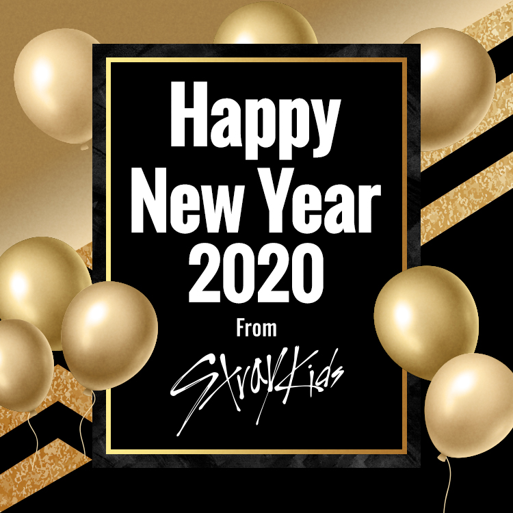 Happy New Year 2020 From Stray Kids