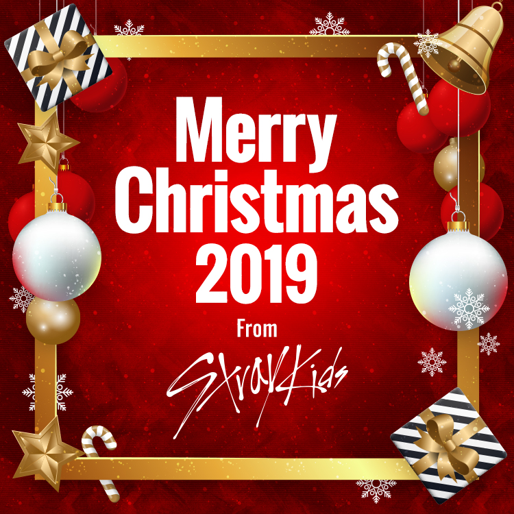 Merry Christmas 2019 From Stray Kids